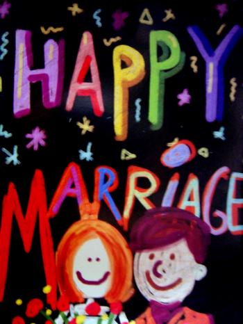 Happy mariage Card