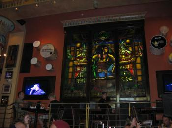 Hardrock cafe window