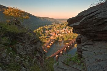 Harpers Ferry Overlook - HDR