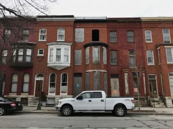 Harry S. Cummings House, 1318 Druid Hill Avenue, Baltimore, MD 21217