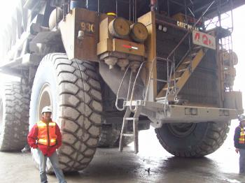 Haul Truck and Me