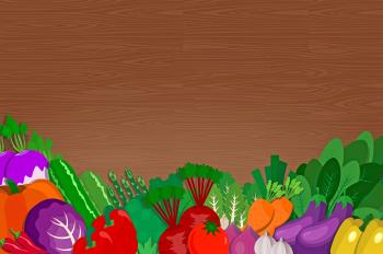 Healthy Vegetables - Eating Healthy Food - With Copyspace