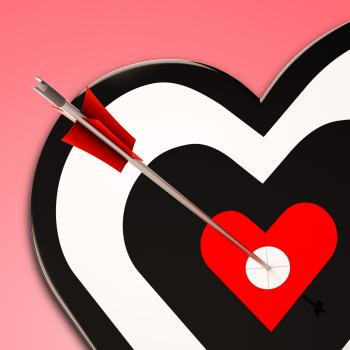 Heart Shows Passion And Success In Love