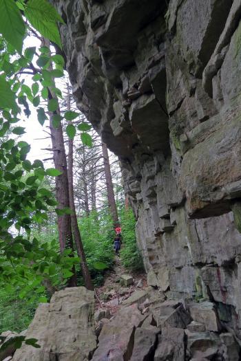 Hiking at Mohonk Preserves