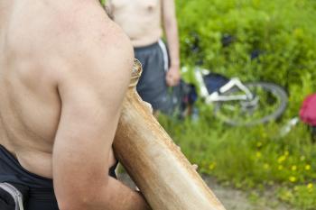 Holding Wood