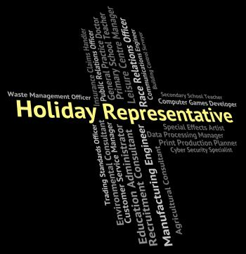 Holiday Representative Means Go On Leave And Career