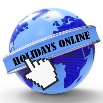 Holidays Online Shows Web Site And Break