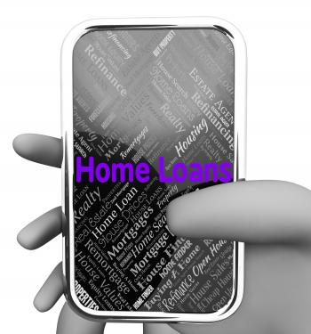 Home Loans Represents Web Site And Borrowing