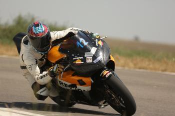 Honda CBR1000RR on turn