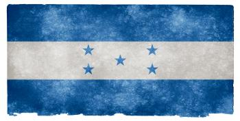 Honduras Grunge Flag