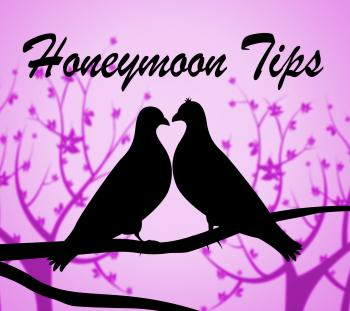Honeymoon Tips Means Vacational Destinations And Guidance
