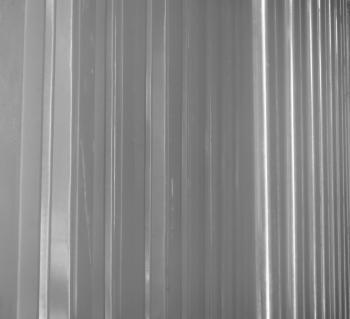 Horizontal Metal Panels Background