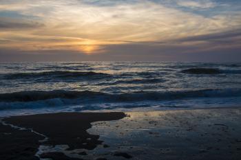 Horsefalls Beach, Oregon, Last Light