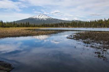 Hosmer Lake, Oregon, Fly-Fishing Only