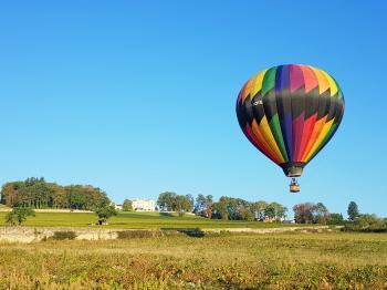 Hot air balloon flights Lyon