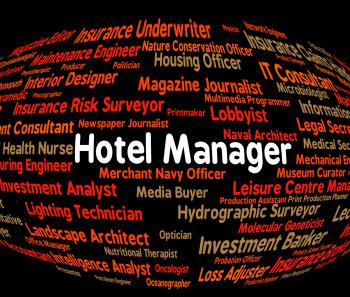 Hotel Manager Shows Place To Stay And Administrator