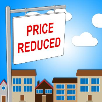 House Price Reduced Means Properties Offer And Bungalow