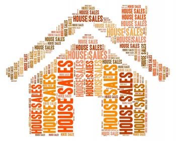 House Sales Shows Purchases Property And Residence