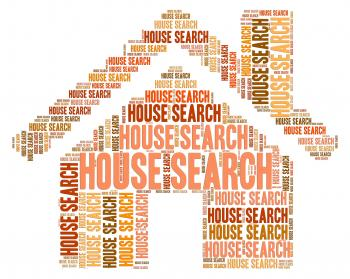 House Search Indicates Housing Residence And Inquiry