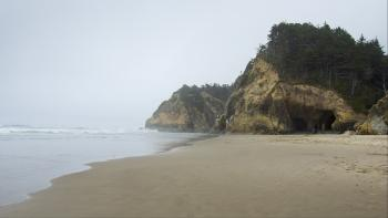 Hug Beach, Oregon