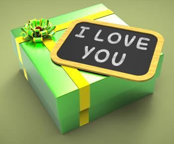 I love You Present Means Special Dates And Romantic Dinners