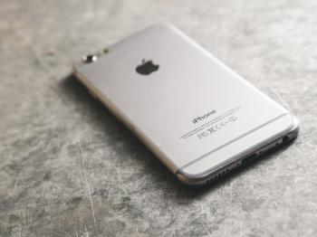 I Phone Closeup