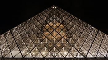 I. M. Pei's Pyramid, The Louvre