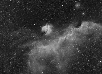 IC2177 in the Deep South of the Winter Milky Way