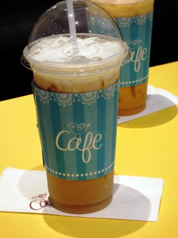 Iced Coffee and Tea