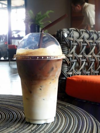 Iced Coffee Inside