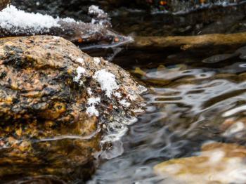 Icy stones