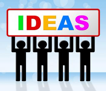 Ideas Idea Means Conception Invention And Innovation
