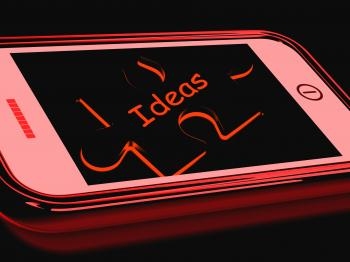 Ideas Smartphone Shows Inspiration Thoughts And Concepts