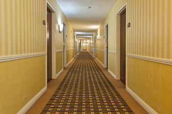Illuminated Corridor - HDR