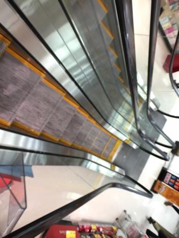 I'm shopping on the escalator of life