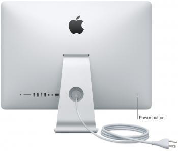 Turned-on Macbook Pro