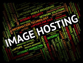 Image Hosting Represents Pictures Webhost And Www