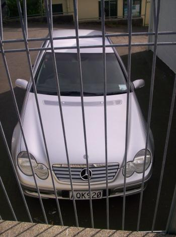 Imprisoned Mercedes