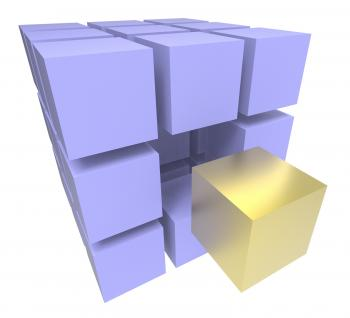Individual Block Meaning Different Or Outsider