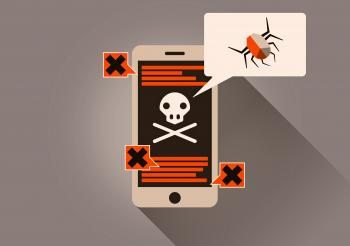 Infected Smartphone - On-Line Security Threat