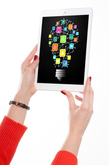 Information Technology Idea on Tablet