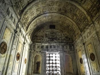 Inside of abandoned church