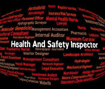 Inspector Word Shows Health Check And Monitor
