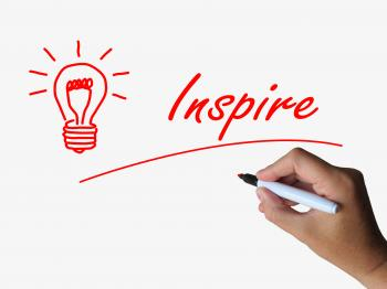 Inspire and Lightbulb Refer to Inspiration Motivation and Influence