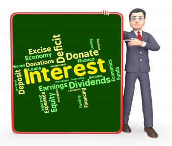 Interest Word Means Words Yield And Dividend