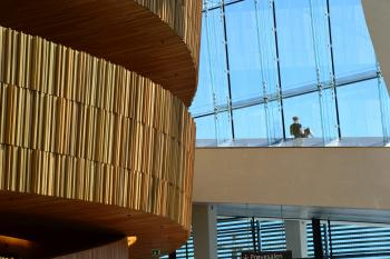 Interior of the Oslo Opera House