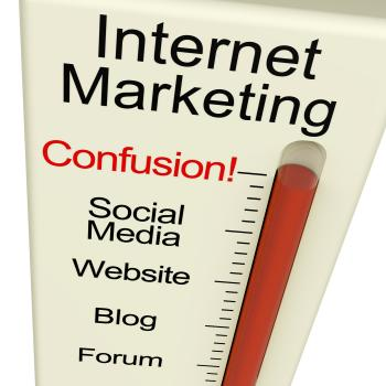 Internet Marketing Confusion Shows Online SEO Strategy And Development