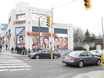 Intersection of Bathurst and Eglinton, 2013 04 09 -bv