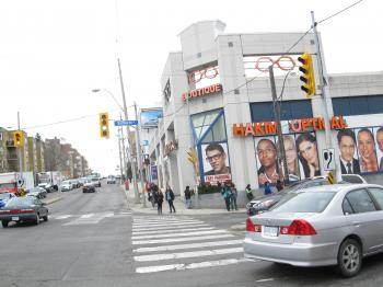 Intersection of Bathurst and Eglinton, 2013 04 09 -cb