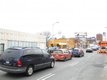 Intersection of Oakwood and Eglinton, 2013 04 09 -ai